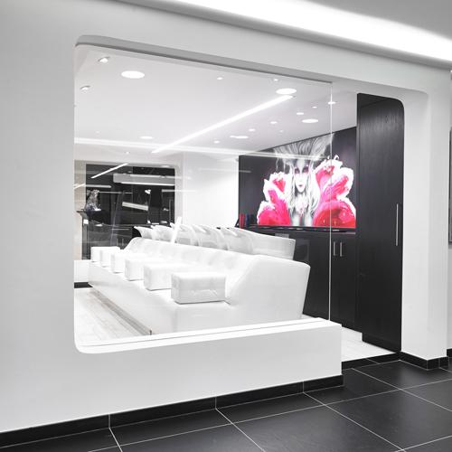 Zitbank voor wastafel kapsalon groot  Projecten  Realisaties # Wasbak Salon_014204
