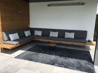 Outdoor lounge kussenset op maat
